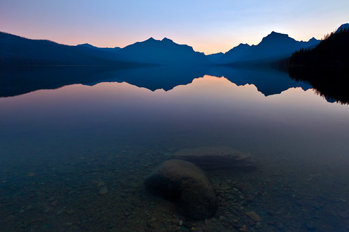 Underneath, Lake Mcdonald, Glacier National Park.
