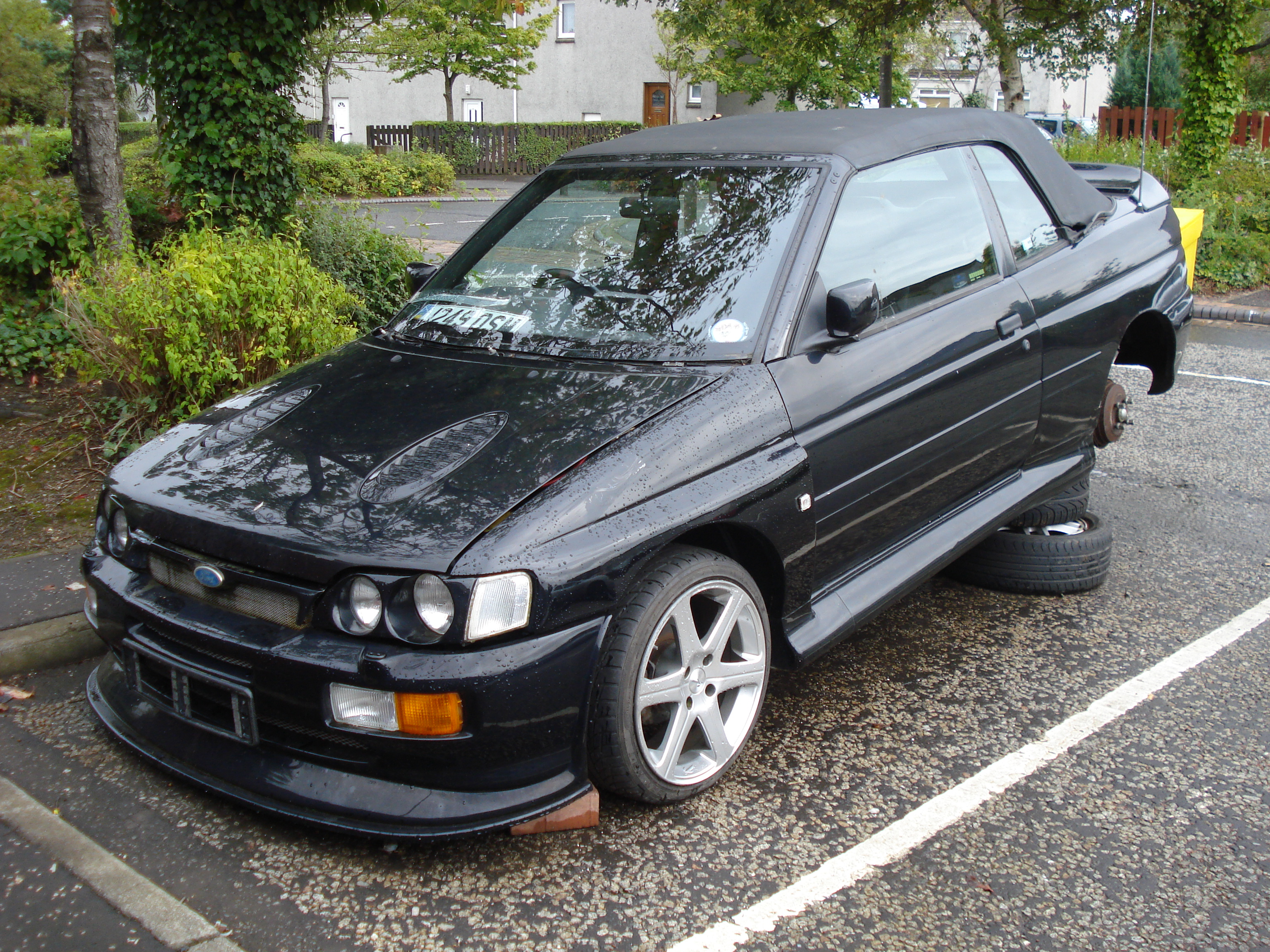 1992 ford escort xr3i cabriolet flickr photo sharing. Black Bedroom Furniture Sets. Home Design Ideas