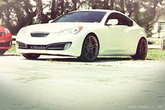family car(0.0), automobile(1.0), automotive exterior(1.0), wheel(1.0), vehicle(1.0), automotive design(1.0), rim(1.0), mid-size car(1.0), hyundai genesis coupe(1.0), compact car(1.0), bumper(1.0), sedan(1.0), land vehicle(1.0), luxury vehicle(1.0), coupã©(1.0), supercar(1.0), sports car(1.0),