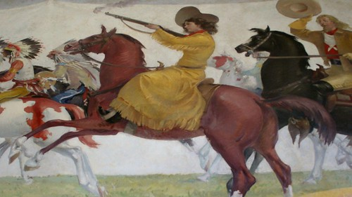 Annie Oakley Returns To Nutley NJ