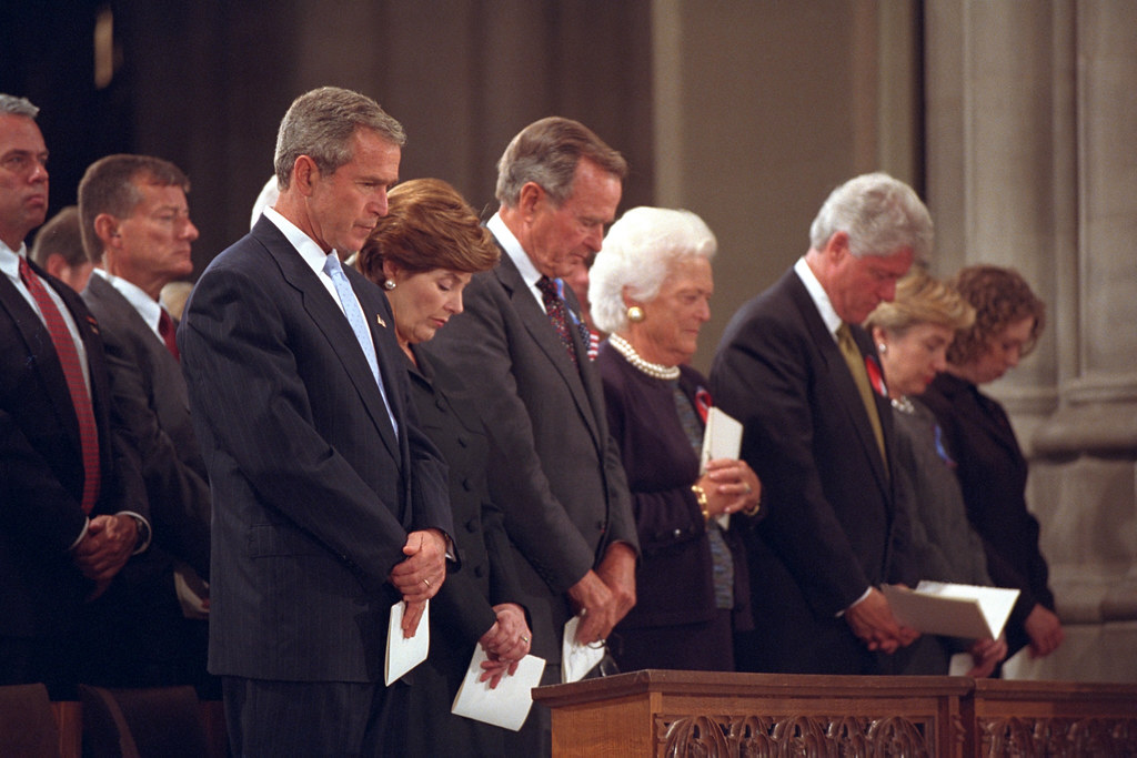 911 President George W Bush At National Cathedral 09 14 Flickr