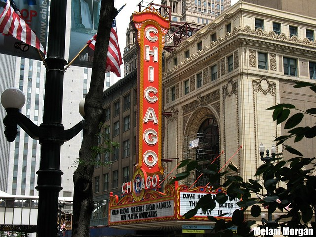 Chicago Theater Building - December