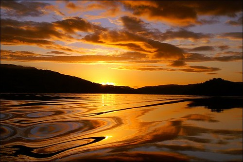 Sunset Over Loch Awe