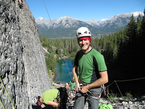 canmore rock climbing