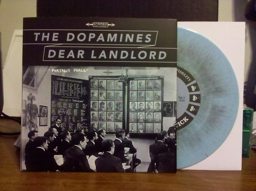 "Dear Landlord / Dopamines - Split 7"" - Blur w/ Grey Vinyl"