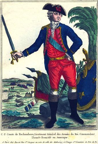 C F Comte de Rochambeau by Stifts- och landsbiblioteket i Skara