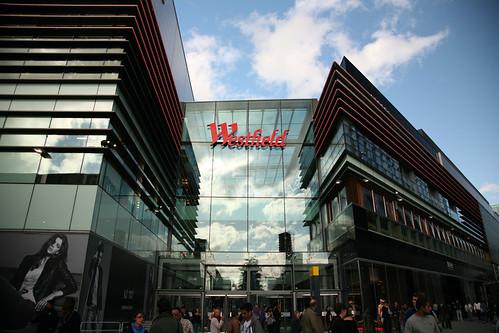 Westfield Stratford City shopping centre inside photo
