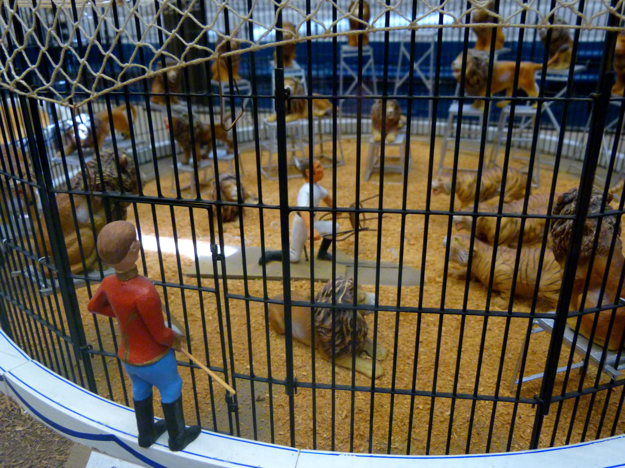 Miniature Circus Exhibit at Big E