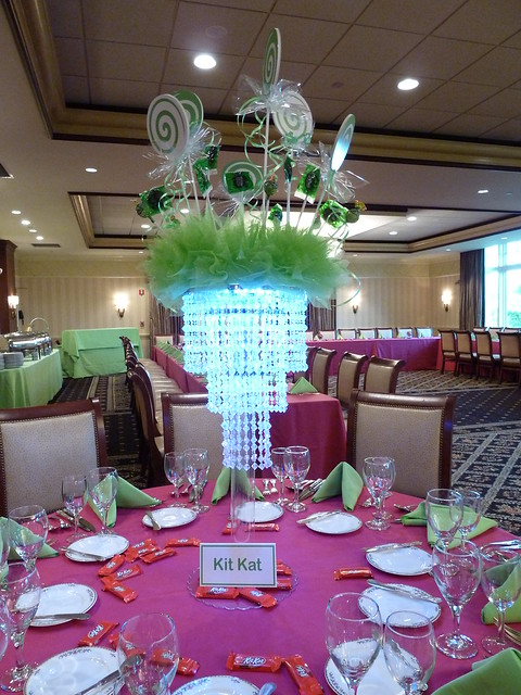 Flickriver photoset crystal chandelier centerpieces by