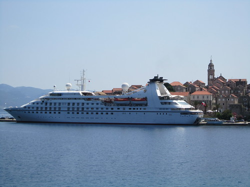 Croatia Cruise Ship