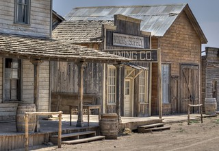Scene from the Old West