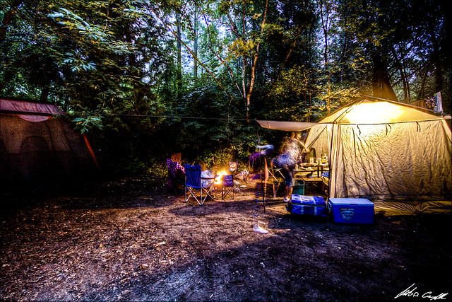 Camping Site HDR