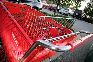 Red Target Shopping Cart August 10, 20113