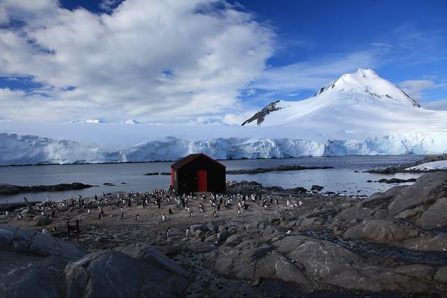 Port Lockroy, La Antártida