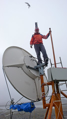Hornsund - antena nadawcza