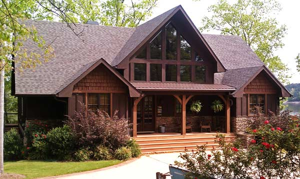 Appalachia lake house plan 604 for A frame mountain house plans