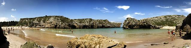 Panorama cuevas del mar II