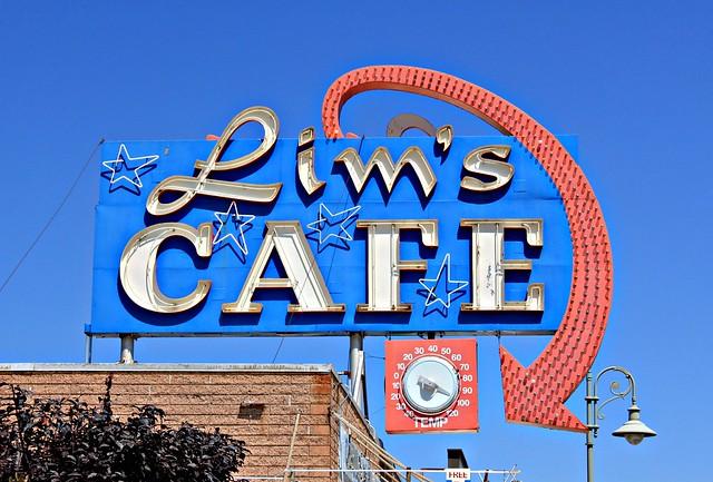 Lim's Cafe - 592 North Market Street, Redding, California U.S.A. - August 20, 2011