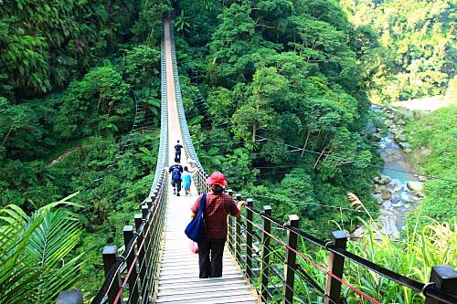 00Y7竹山天梯-梯子吊橋