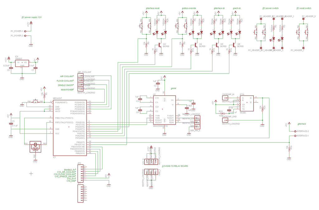 cnc mill phase 3  pcb design