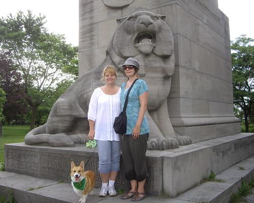 QEW monument