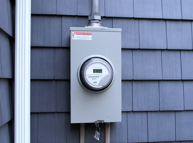 how to open electric meter box