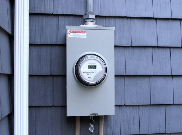 Electric Meter Panel : Residential electrical meter box riser free