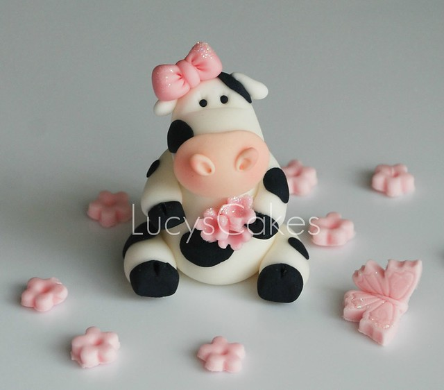 Friesian Cow cake topper | visit me and LIKE my facebook ...