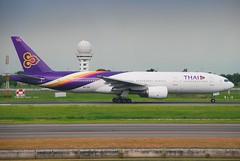 Thai Airways International Boeing 777-200; HS-TJC@BKK;29.07.2011/612al