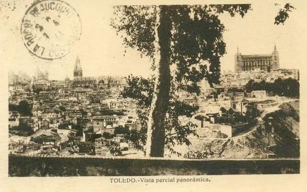 Almez de la ermita del Valle a comienzos del siglo XX