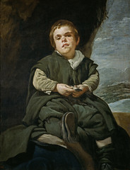 Francisco Lezcano, `The Boy from Vallecas,' 1640, by Velázquez