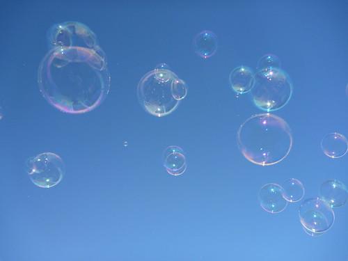 Bubbles - stock market bubble