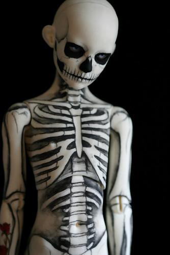 skeleton boy