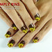 Nail Art Sunflowers 01