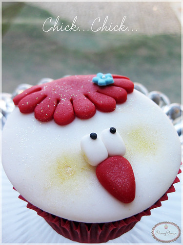 Chick Cupcake by Fleury Douce