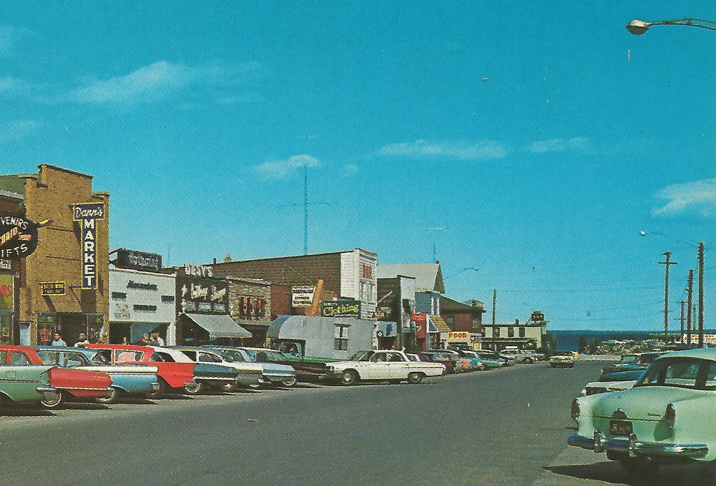 ne mackinaw mi 1960s barnichs walgreen agency drug store