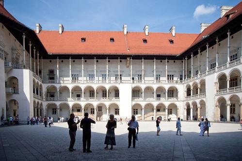 Renaissance courtyard of Wawel Castle, Kraków, Poland by Fotosia
