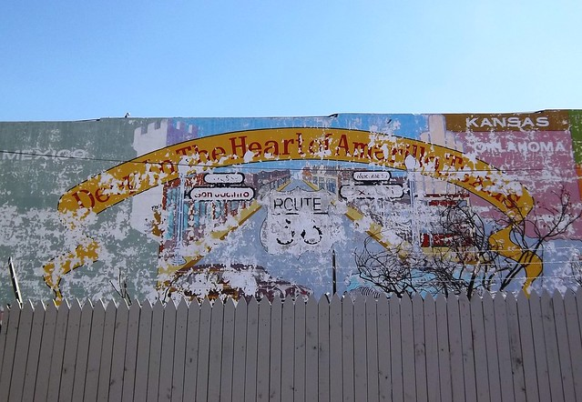 Route 66 mural 2 amarillo texas flickr photo sharing for Route 66 mural