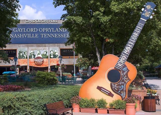 Grand Ole Opry House -- Opryland Nashville (TN) July 2011 from Flickr via Wylio