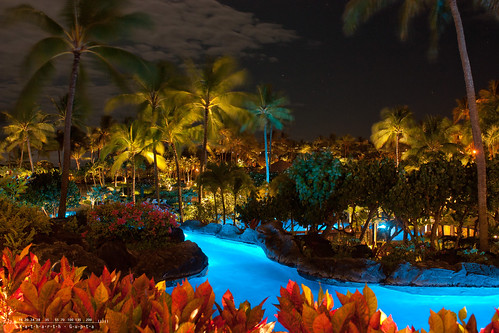 ocean blue trees summer usa green pool set night america river garden movie island hawaii drive hotel us paradise shoot view nightscape state pacific coconut united grand august location tokina lazy plantation kauai poipu movies hyatt shooting hi states isle breathtaking kuai 2011 1116