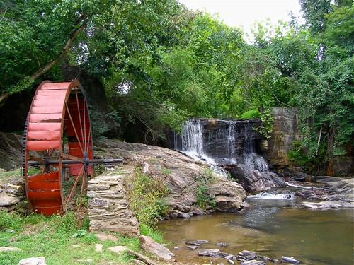 rock stone creek waterfall nc iron masonry lakelouise waterwheel weaverville gristmill 2011 reemscreek melystu