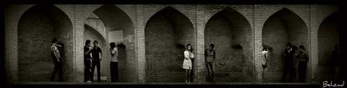 life bridge view iran live khan isfahan 33pol blackwhitephotos nikond90 allahverdi iranmap iranmapcom behzadno