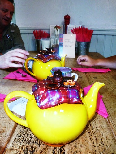 Tea Time at Coach House Cafe
