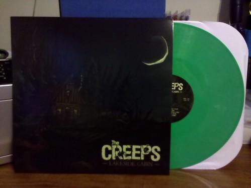 The Creeps - Lakeside Cabin LP - Green Vinyl /500