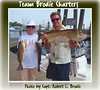 Ohio Anglers Catch Redfish In Biloxi Mississippi - Mary Carneval and Steve Drongowski - Photo by Capt. Robert L. Brodie by teambrodiecharters