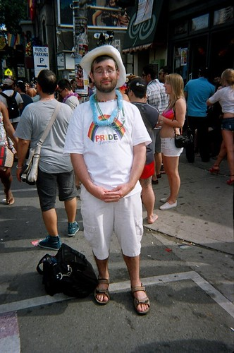 Me at Pride, 2011
