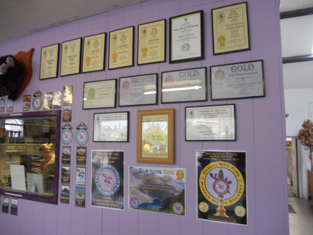 A selection of awards that Purple Moose have won
