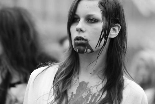 Stockholm zombie walk 2011
