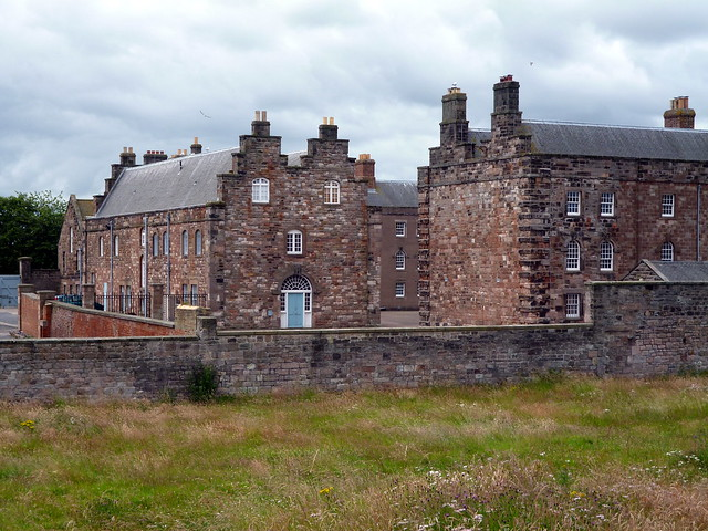 West barrack, Berwick Barracks