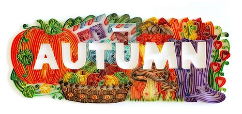 Quilled Autumn by Katherine Usowa